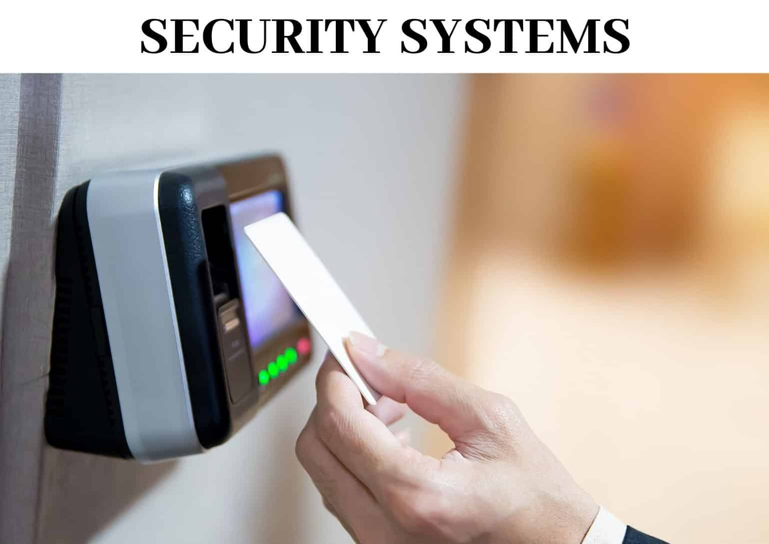 Install Securety Systems with Finnegan Edison Locksmith